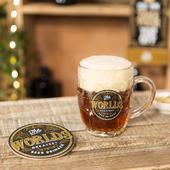 Brewmaster Worlds Greatest Beer Drinker Beer Tankard & Coaster