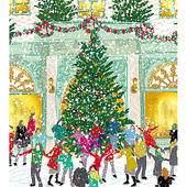 Pack of 5 Winter Joy Alzheimer's Society Charity Christmas Cards