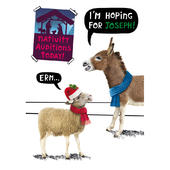 I'm Hoping For Joseph! Funny Crackerjack Christmas Card