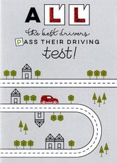 Driving Test Congratulations Greeting Card