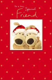 Boofle Very Special Friend Christmas Greeting Card