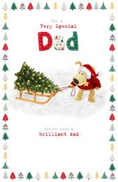 Boofle Very Special Dad Christmas Greeting Card