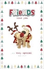 Boofle Friends Like You Christmas Greeting Card