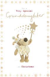 Boofle Very Special Granddaughter Christmas Greeting Card