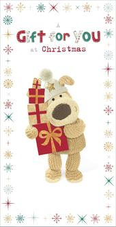 Boofle Christmas Money Wallet Gift Card