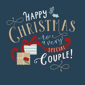 Two All-Time Favourites Embellished Christmas Greeting Card