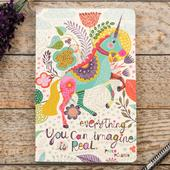 Compendium Unicorn Everything Is Real Journal Notebook