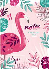 Flamingo Notes & Ideas A5 Lined Journal