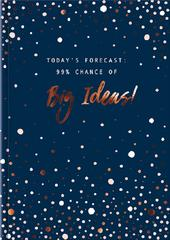 Today's Forecast Big Ideas A5 Lined Journal