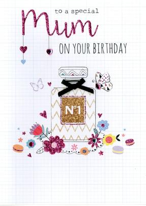 To A Special Mum Birthday Greeting Card
