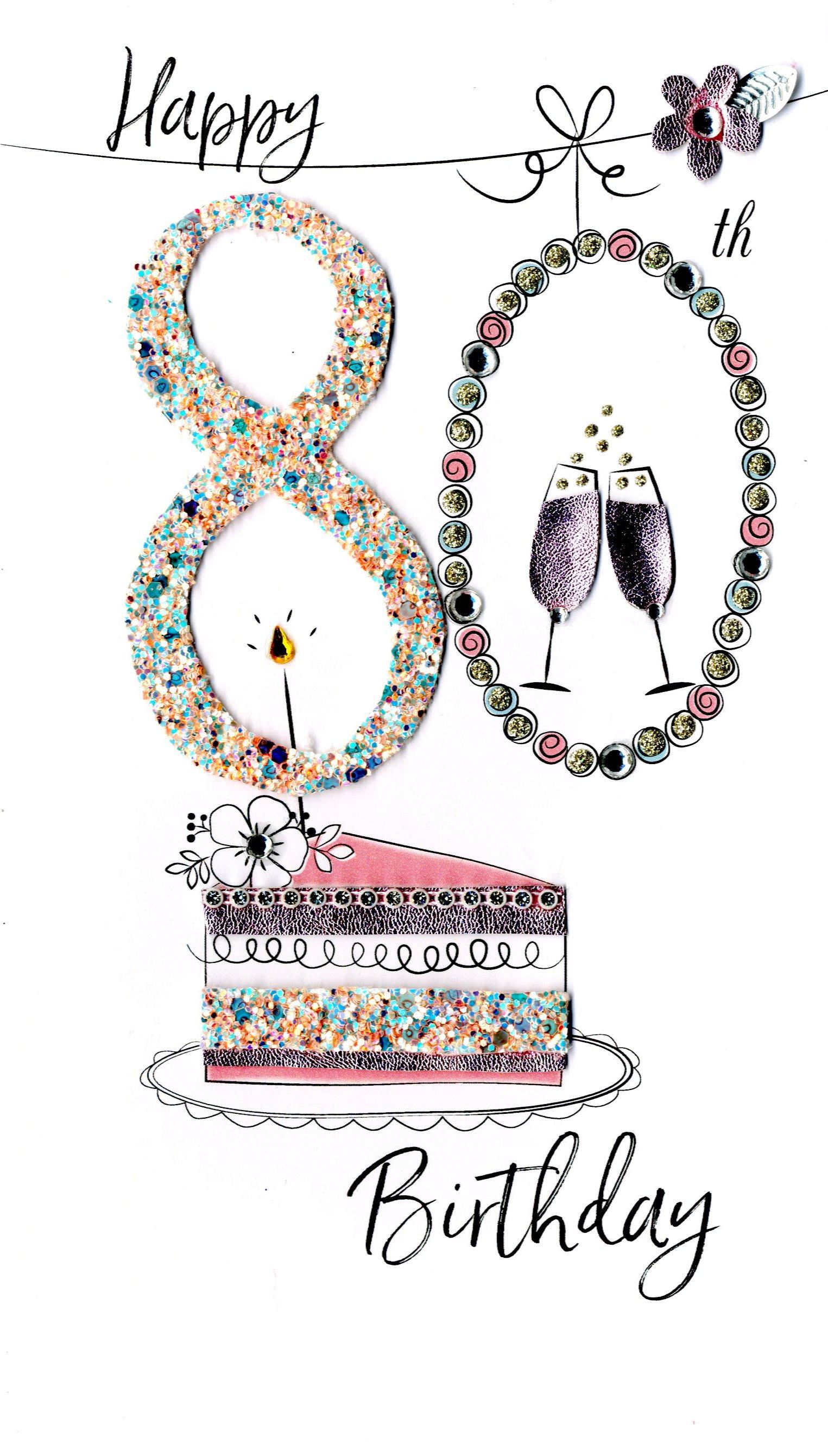 Quality NEW Tea Cups /& Cakes Female Birthday Card