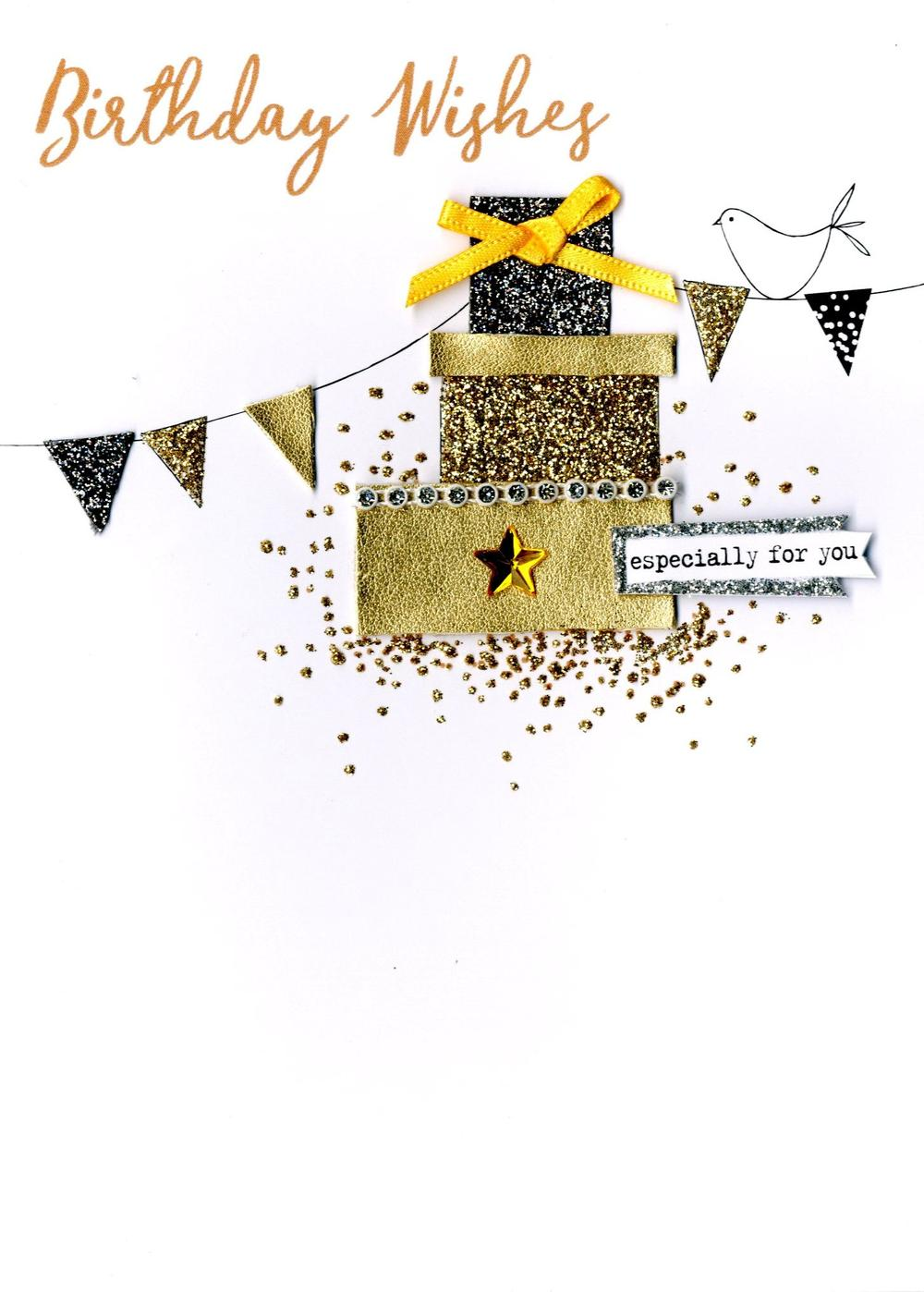 Birthday Wishes Especially For You Irresistible Greeting Card