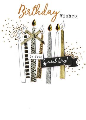 Birthday Wishes On Your Special Day Irresistible Greeting Card