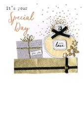 It's Your Special Day Irresistible Birthday Greeting Card