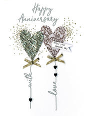 Happy Anniversary With Love Irresistible Greeting Card