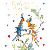 Quentin Blake Love Of My Life Valentine's Day Greeting Card
