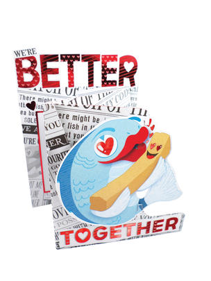 We're Better Together Valentine's Day Card