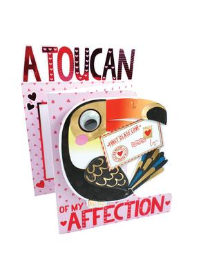 A Toucan Of My Affection Valentine's Day Card