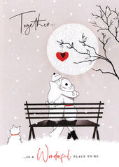 Wonderful Place Valentine's Day Greeting Card
