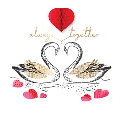 Always Together Valentine's Day Greeting Card