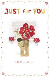 Boofle Just For You Valentine's Greeting Card