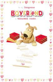 Boofle Gorgeous Boyfriend Valentine's Greeting Card