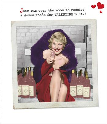 Funny Dozen Roses For Valentine's Day Greeting Card