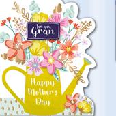 For You Gran Happy Mother's Day Greeting Card