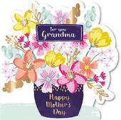 For You Grandma Happy Mother's Day Greeting Card