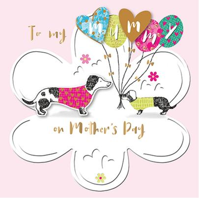 To My Mummy Happy Mother's Day Greeting Card