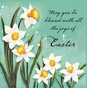Joys Of Easter Pack of 5 Mini Easter Cards
