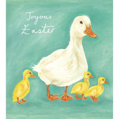 Pack of 5 Ducklings Joyous Easter Greetings Cards