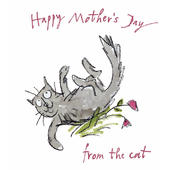 Quentin Blake From The Cat Happy Mother's Day Greeting Card