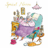 Quentin Blake Special Nanna Mother's Day Greeting Card