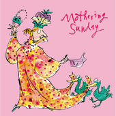 Quentin Blake Mothering Sunday Mother's Day Greeting Card
