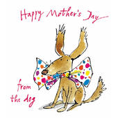 Quentin Blake From The Dog Happy Mother's Day Greeting Card