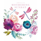 Love On Mothering Sunday Mother's Day Greeting Card