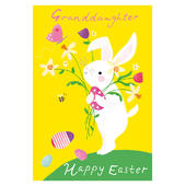 Happy Easter Granddaughter Easter Greeting Card