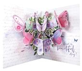 Pop Out Butterflies Happy Mother's Day Greeting Card
