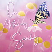 On Mothering Sunday Mother's Day Card