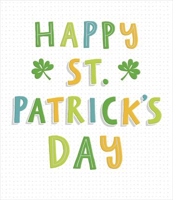 Luck & Laughter Happy St Patrick's Day Greeting Card