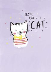 From The Cat Happy Mother's Day Greeting Card