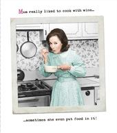 Funny Mum Liked To Cook With Wine Mother's Day Card