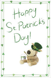 Boofle Lovely Happy St Patrick's Day Greeting Card