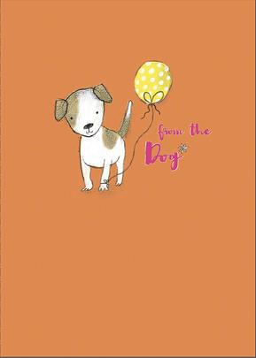 From The Dog Happy Mother's Day Greeting Card