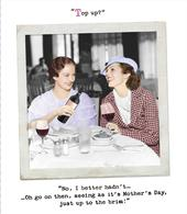Funny Top Up? Just Up To The Brim Mother's Day Card
