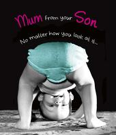 Funny Mum From Your Son Mother's Day Card