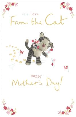 Boofle From The Cat Happy Mother's Day Greeting Card