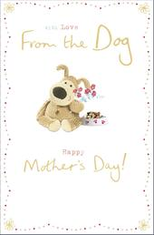 Boofle From The Dog Happy Mother's Day Greeting Card