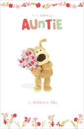 Boofle To A Lovely Auntie Mother's Day Greeting Card